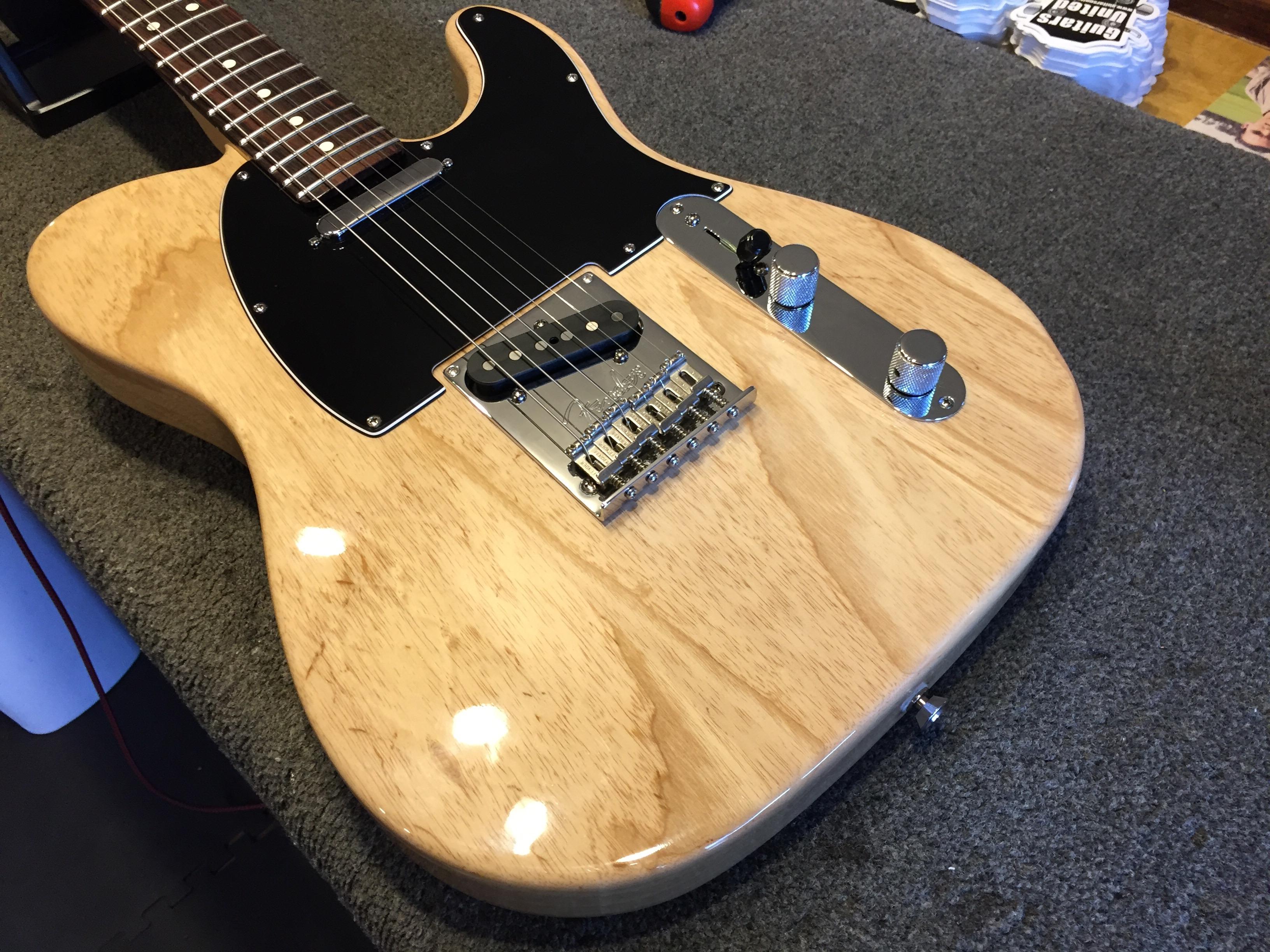 2009 fender american standard ash telecaster in for sale guitars united. Black Bedroom Furniture Sets. Home Design Ideas