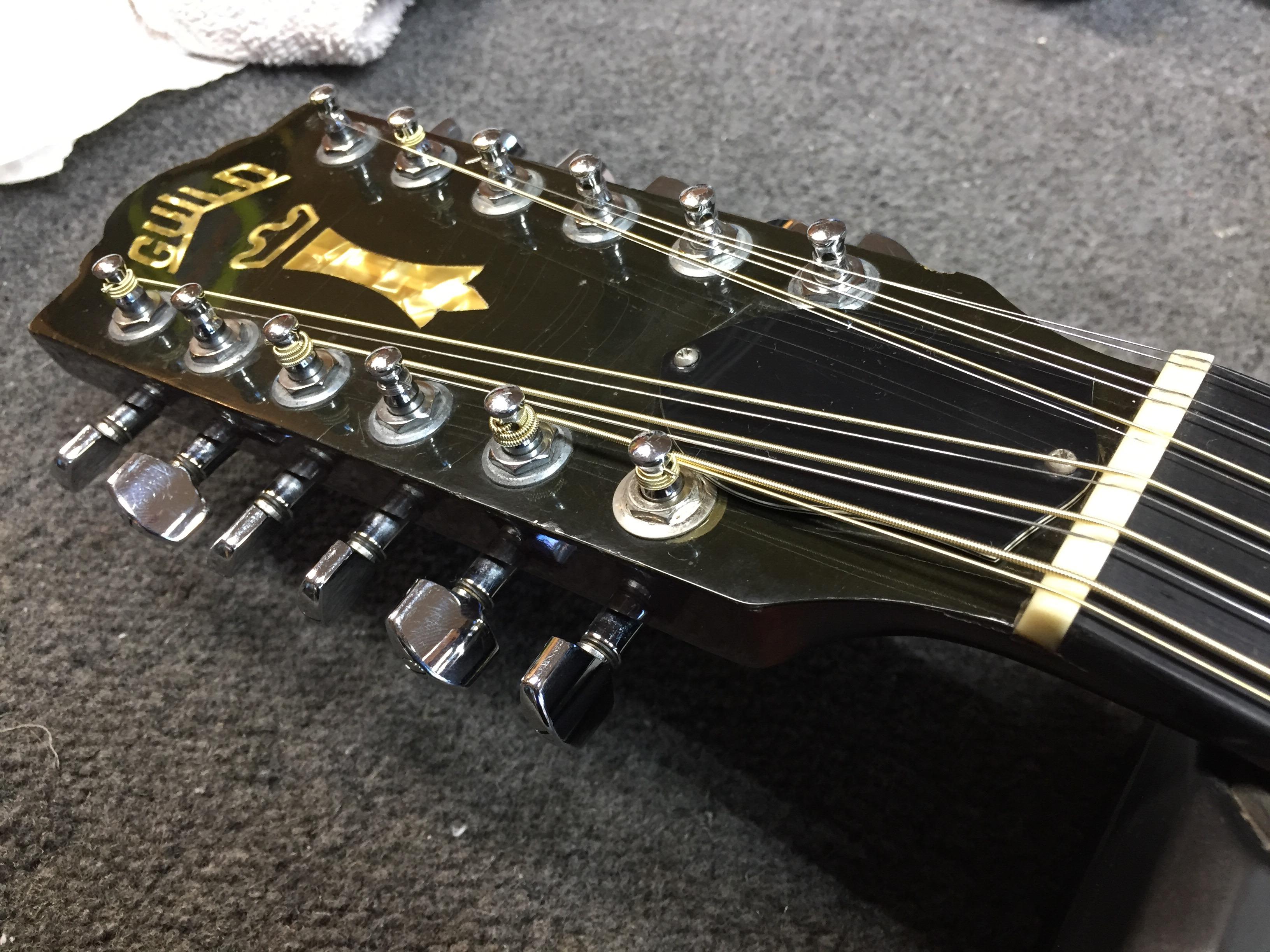 vintage guild 12 string in for a setup guitars united. Black Bedroom Furniture Sets. Home Design Ideas